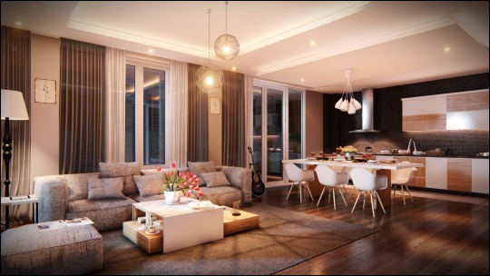 how to render a beautiful scene part 1  interior living