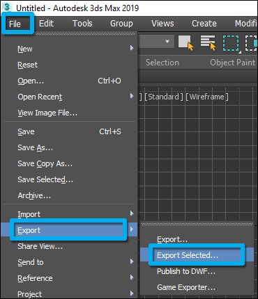 Model import guidelines for 3ds Max – Lumion