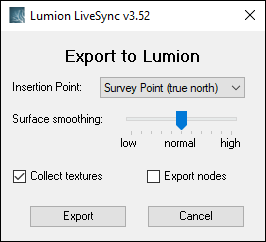 How do you get help with import/export questions? – Lumion